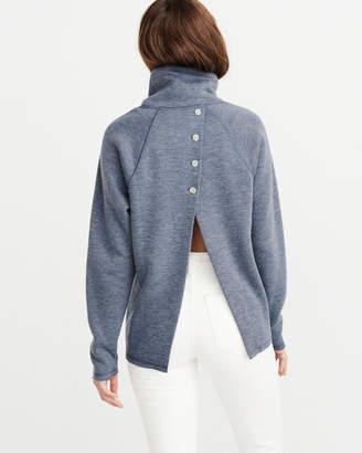 Abercrombie & Fitch Button-Back Sweatshirt
