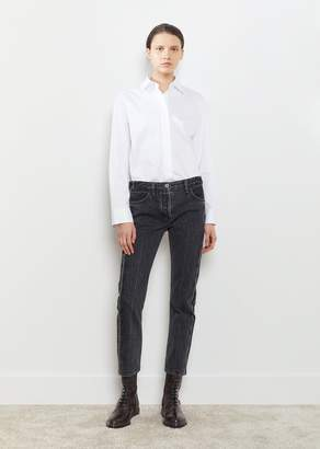 The Row Ashland Selvage Jeans Anthracite
