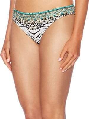 Wide Mid-Rise Bikini Bottom