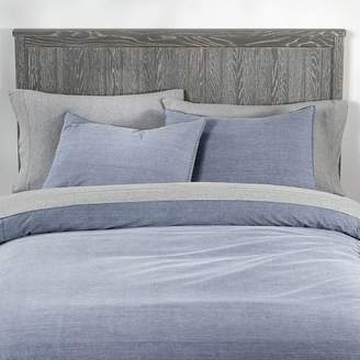 Pottery Barn Teen Vintage Washed Organic Cotton Duvet Cover, Twin/Twin XL, Faded Navy