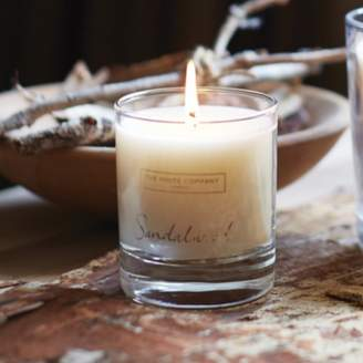 The White Company Sandalwood Signature Candle