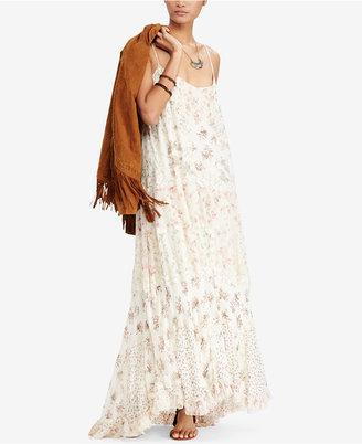Denim & Supply Ralph Lauren Sleeveless Maxi Dress $298 thestylecure.com
