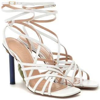 Jacquemus Les Sandales Pisa leather sandals