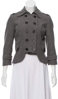 Robert Rodriguez Cropped Double-Breasted Blazer