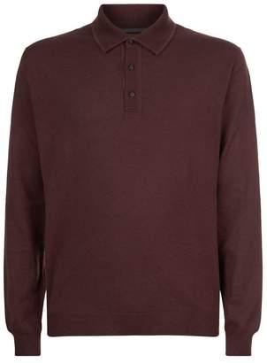 Corneliani Wool Polo Shirt