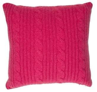 Arabella Rani Roma Cashmere Throw Pillow w/ Tags