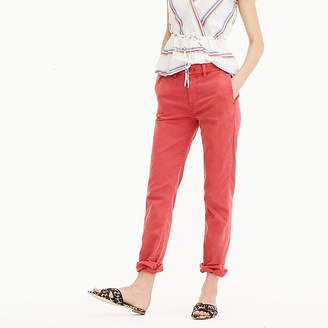 J.Crew High-rise slim boy chino pant