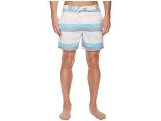 Original Penguin Stripe Swim Trunk Men's Swimwear