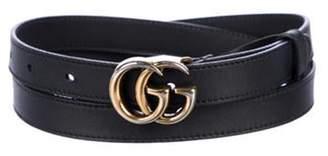 Gucci GG Marmont Belt Black GG Marmont Belt