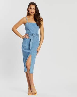Finders Keepers Miami Denim Dress