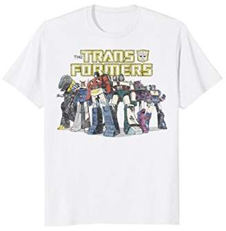 Hasbro Transformers Robot Group Vintage Graphic T-Shirt