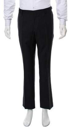 Burberry Wool Pinstripe Dress Pants