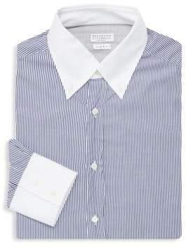 Brunello Cucinelli Contrast Trim Sport Shirt