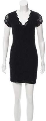Nightcap Clothing Crochet Mini Dress