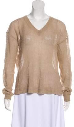 Acne Studios Alpaca Blend Long Sleeve Sweater