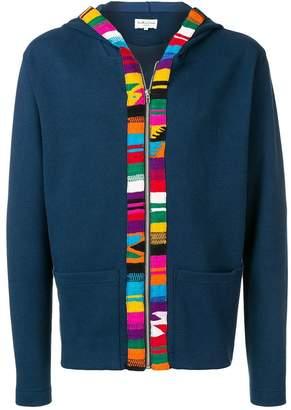 YMC patterned hoodie