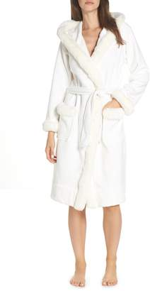 UGG Duffield II Deluxe Faux Fur Trim Robe