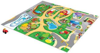 Fisher-Price Tcg Toys Little People Original Mega Mat Play Mat With Bonus Vehicle