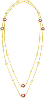 Henri Bendel Miss Bendel Enamel Station Necklace