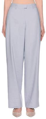 Giorgio Armani Flax Twill Wide-Leg Trousers