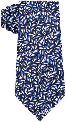 Sean John Men's Abstract Floral Geo Silk Tie