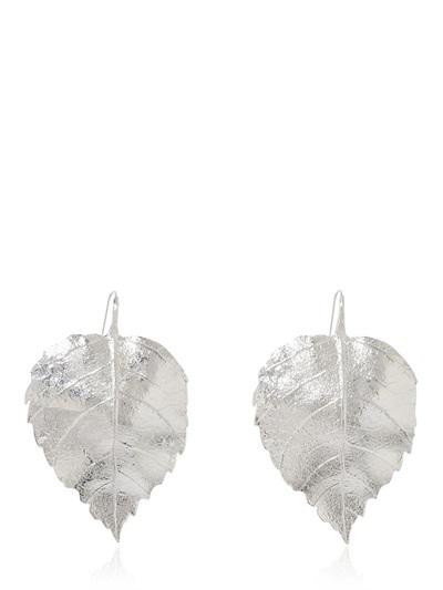 Aurelie Bidermann Central Park Leafs Earrings