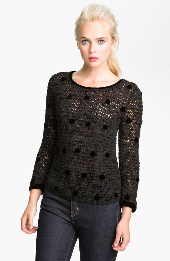 MARC BY MARC JACOBS 'Koyla' Polka Dot Sweater