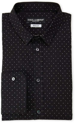 Dolce & Gabbana Dotted Dress Shirt