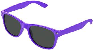7ca878813f2 clear RetroUV Classic Eyewear 80 s Retro Large Horn Rimmed Style Sunglasses  (Wayfarer    Clear