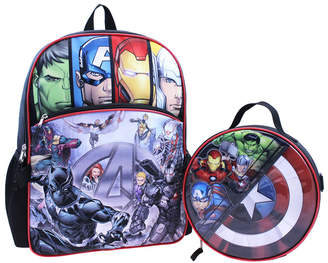 Marvel Avengers Backpack and Detachable Lunch Pack