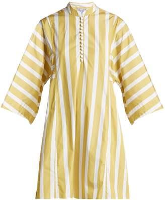 Thierry Colson Nautical Rachel cotton-poplin dress