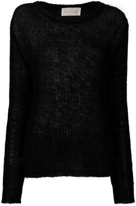 Chiara Bertani cable knit jumper