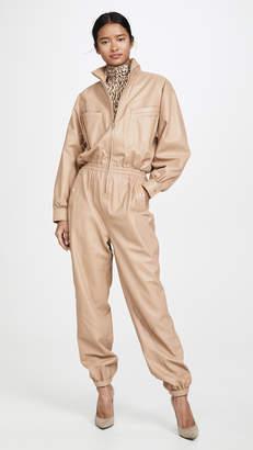 Zimmermann Espionage Leather Boiler Suit