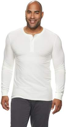 Sonoma Goods For Life Big & Tall SONOMA Goods for Life Supersoft Slim-Fit Henley