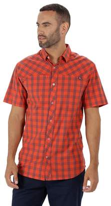Regatta Orange 'Honshu' Short Sleeved Shirt