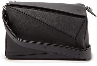 Loewe Puzzle Xl Grained Leather Bag - Mens - Black 1e6d74300906a