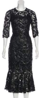 Dolce & Gabbana Lace Embroidered Dress w/ Tags