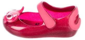 Mini Melissa Girls' Rubber Appliqué Flats