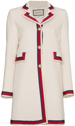 Gucci Wool Long Sleeve Coat
