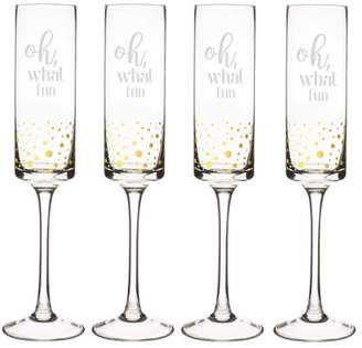 Cathy's Concepts Cathys Concepts Oh What Fun 8 oz. Champagne Flute