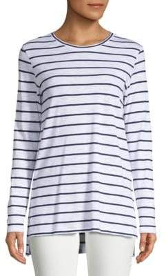Saks Fifth Avenue Side Slit Crewneck Tunic