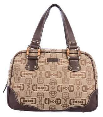 Gucci Hosebit Boston Bag