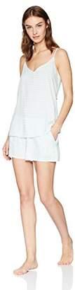 Mae Women's Sleepwear Strappy Tank and Short Pajama Set