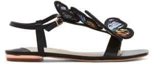 Sophia Webster Riva Leather Flat Gladiator Sandals
