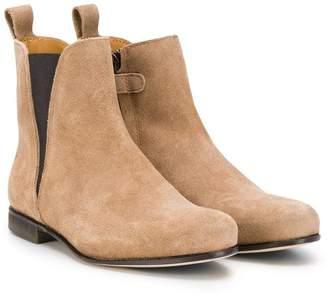 Gallucci Kids almond toe Chelsea boots