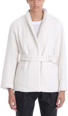 IRO Beige Cotton Jacket