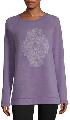 ST. JOHN'S BAY SJB ACTIVE Active Long Sleeve Graphic Sweatshirt - Tall