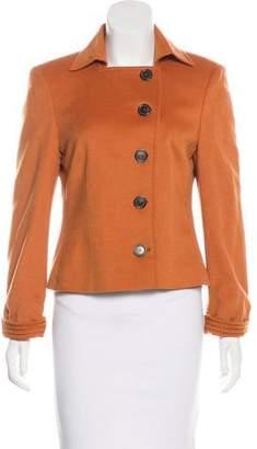 Akris Punto Wool & Angora-Blend Jacket