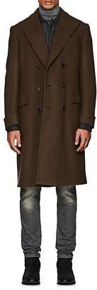 Ralph Lauren Purple Label Men's Wellington Wool-Blend Double-Breasted Topcoat