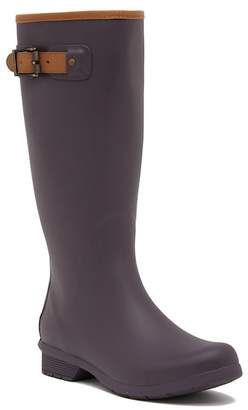 Chooka City Solid Tall Waterproof Rain Boot
